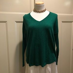 Green sweater by Trouve